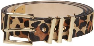 B-Low the Belt B. Low The Belt Leopard Print Belt