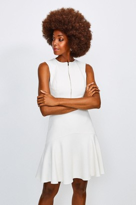 Karen Millen Luxe Topstitch Dress
