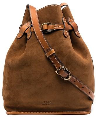 Polo Ralph Lauren Suede Bucket Bag