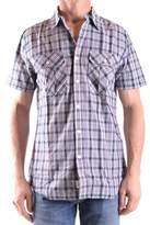 Woolrich Men's Multicolor Cotton Shirt.