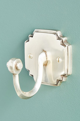 Anthropologie Raina Towel Hook By in Silver Size ALL