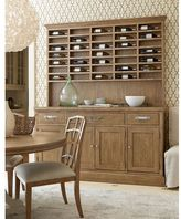 Universal Furniture Moderne Muse Sideboard with Sommelier's Hutch in Bisque Finish