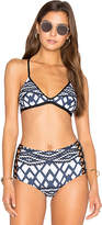 Seafolly Modern Tribe Action Back Tri in Blue. - size Aus 6/US 2 (also in )