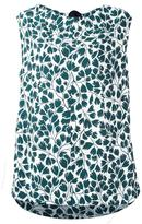 Marni sleeveless printed blouse