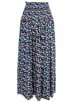 Tory Burch Printed Convertible Jersey Maxi Skirt