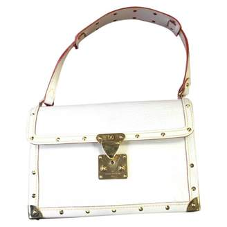 Louis Vuitton \N White Leather Handbags