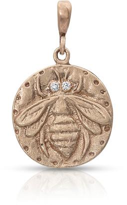 Dominique Cohen 18k Rose Gold Bee Coin Enhancer