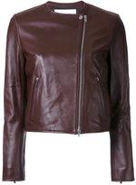 Le Ciel Bleu 'Minimal Riders' jacket - women - Sheep Skin/Shearling - 36