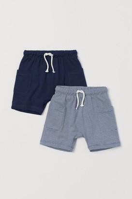 H&M 2-pack Long Shorts