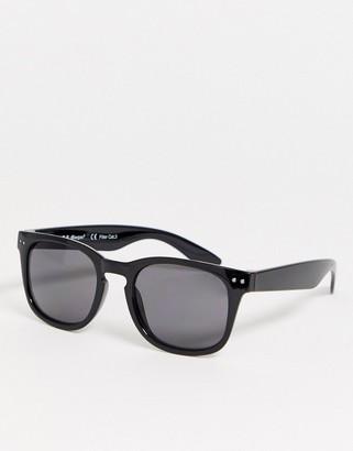 A. J. Morgan AJ Morgan square sunglasses in black