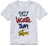 Lacoste Kids' Short Sleeve 1927 Croc Graphic T-Shirt