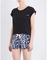Calvin Klein Shift stretch-cotton pyjama top