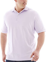 Claiborne Short-Sleeve Stretch Piqu Polo-Big & Tall