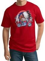 Buy Cool Shirts Mens Indian Motorcycle Big Chief Tall T-shirt