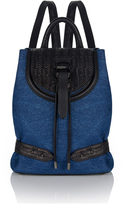 Meli-Melo Women's Mini Backpack Blue Wash Denim