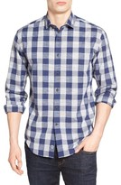 James Campbell Men's Ag Check Sport Shirt