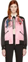 Valentino Pink Floral Souvenir Jacket