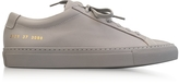 Common Projects Ash Leather Achilles Original Low Top Women's Sneakers
