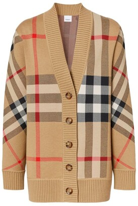 Burberry Vintage Check Cardigan