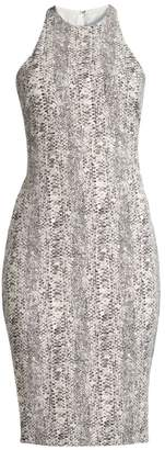 LIKELY Python Print Sheath Dress