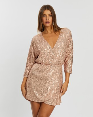 Atmos & Here Lala Sequin Dress