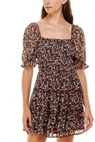 Thumbnail for your product : Trixxi Tiered Printed Dress