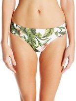 Seafolly Women's Jungle Ruched Side Retro Bikini Bottom