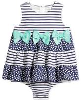 First Impressions Striped Tiered Skirted Sunsuit, Baby Girls (0-24 months)