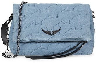 Zadig & Voltaire Rocky Cotton Quilted Crossbody Bag