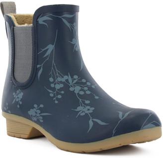 Chooka Women's Bainbridge Chelsea Salma Waterproof Ankle Rain Boot