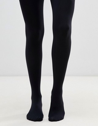 Gipsy luxury 100 denier opaque tights-Black