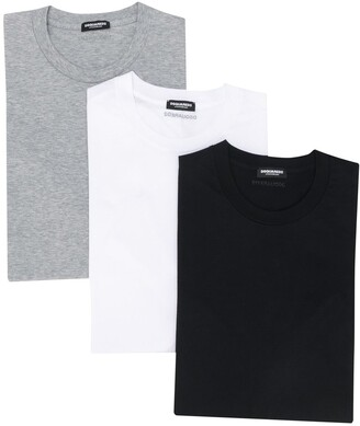 DSQUARED2 basic T-shirt pack