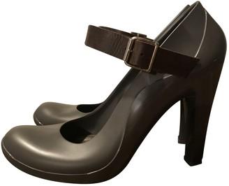 Marni Grey Rubber Heels