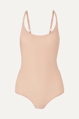 Chantelle Soft Stretch-jersey Bodysuit - Sand