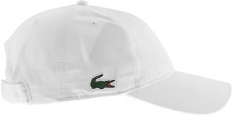 Lacoste Sport Crocodile Baseball Cap White