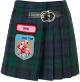 Miu Miu Mini Gonna Kilt skirt