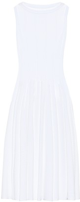 Alaia Stretch-knit midi dress