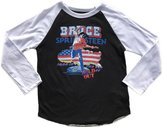Rowdy Sprout Youth Boy's Bruce Springstein Raglan Tee