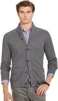 Ralph Lauren Jacquard Fleece Shawl Cardigan