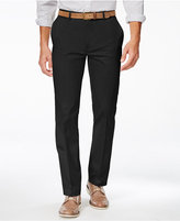 Alfani Men's Slim Sateen Flat-Front Pants, Only at Macy's