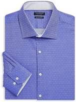 Tailorbyrd Men's Afton Trim-Fit Dotted Cotton Dress Shirt