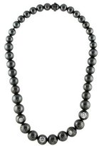 Bottega Veneta Crystal Inlaid Bead Necklace