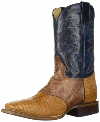 Roper Men's Deadwood Western Boot T Brown 12 D D US