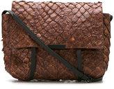 OSKLEN textured bag - women - Pig Leather/Pirarucu Skin - One Size
