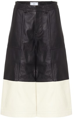AMI Paris Leather culottes