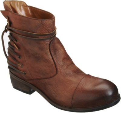 Barneys New York Back Lace Boot