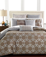 Hotel Collection Rondelle California King Coverlet