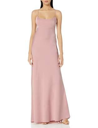 BCBGMAXAZRIA Azria Women's FAE Sleeveless Lace-Up Gown