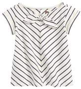 Tea Collection Classic Stripe Knotted Top