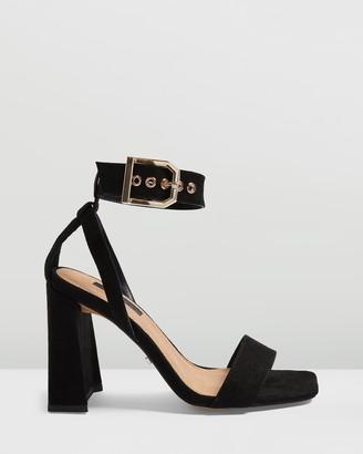 Topshop Roxy Flare Block Heels